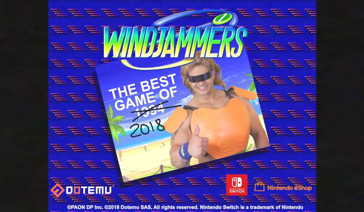 Windjammers : Arrive bientôt sur Switch !